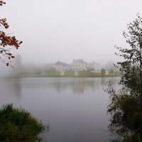 Орловский пруд в тумане. :: Лия ☼