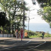 Пешком, бегом и на велосипеде! :: Александр Скамо