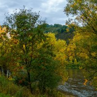 Река Уса, Горная Шория, Сибирь. :: Владимир Деньгуб