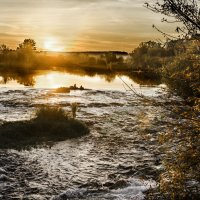 Осенний закат :: Dmitry