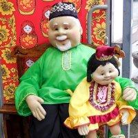 Казанские дедушка с внучкой :: Надежда