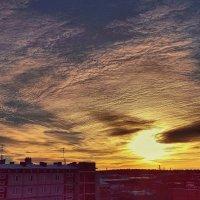 Заревом заката даль Небес объята! :: Елена (Elena Fly) Хайдукова