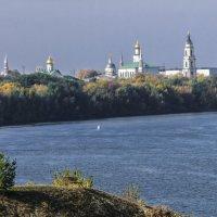 Старо Голутвин монастырь на слияние рек Ока и Москва :: Георгий