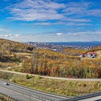 Осенний пейзаж, Владивосток :: Эдуард Куклин