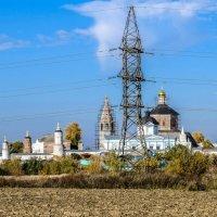"""местная """"железная дама"""" украшает монастырь :: Георгий"""