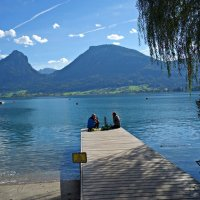 Вольфгангзее в Австрии... :: Galina Dzubina
