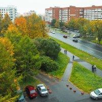 А из нашего окна осень красная видна (1) :: Виталий