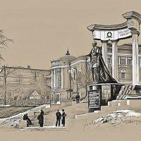 Москва Памятник Александру Второму у Храма Христа Спасителя :: В и т а л и й .... Л а б з о'в