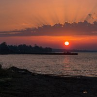 За три минуты до заката :: Валерий Симонов