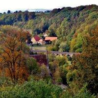 Осень в  долине  Таубер :: backareva.irina Бакарева