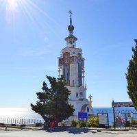 Храм - маяк Святого Николая :: Виктор Шандыбин