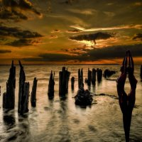 Озеро фигур :: irina Schwarzer