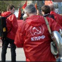 На первомайской демонстрации. :: Юрий ГУКОВЪ