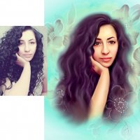 арт-портрет :: Zhanna Abramova