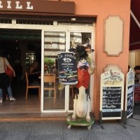 У входа в кафе :: Natalia Harries