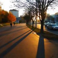Осень в городе. :: adrow