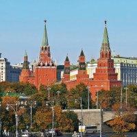 Вид на Кремль :: Евгений Кочуров
