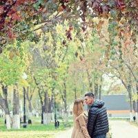Осенняя фотосессия для двоих :: марина алексеева