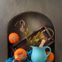 Кухонный натюрморт с тыквами :: Светлана Л.