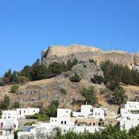 Акрополь в городе Линдос на острове Родос. :: Татьяна Калинкина