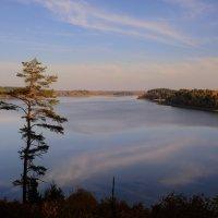 Вечер на озере Сапшо :: Лариса Савченко
