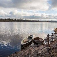 Пасмурный день на реке :: Александр Буторин
