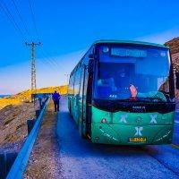 Автобус Эйлат-Иерусалим на остановке у Мёртвого моря :: Игорь Герман