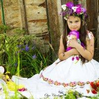 Девочка с куклами :: Ольга Черкес
