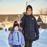 Дядя с племянником :: Владимир VS