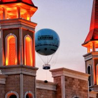 "В ""Легенду"" на воздушном шаре :: Nina Karyuk"