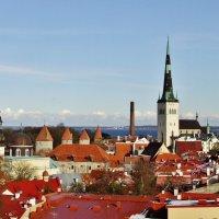 Вид на Таллин со смотровой Кохтуотса(2) :: Aida10
