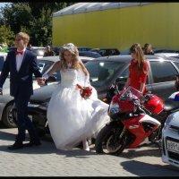 Свадьба мото байкера. :: Юрий ГУКОВЪ
