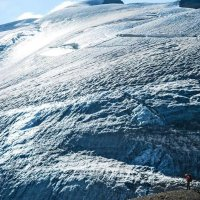 ПУТЕШЕСТВИЕ, ледник, быть или не быть.. :: Виктор Осипчук