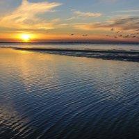 тихое море на закате :: Георгий А