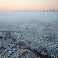 Туман надвигается :: Сергей Исайчев