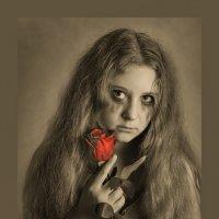 Портрет чб (Сони а77м2 Сигма 18-35 1.8) печать на сукне :: Артур Овсепян