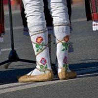 Обувь молдавского национального костюма :: Nina Streapan