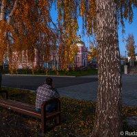 Вечером в Сухотинском монастыре :: Сергей