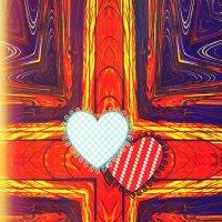 """7. Крест """"10  сердечек"""" :: Фотогруппа Весна-Вера,Саша,Натан"""