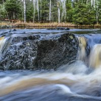 водопад вокруг камни :: Георгий А