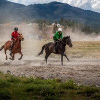 гонка на 12 км :: Виктор Ковчин