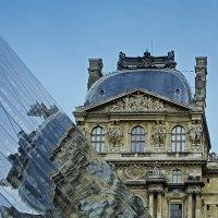 Отражение в Лувре :: Alexandеr P