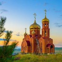 Храм в поселке Жемчужный, Хакасия :: Nikolay Svetin