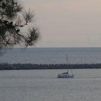 На море в преддверии захода солнца :: Маргарита Батырева