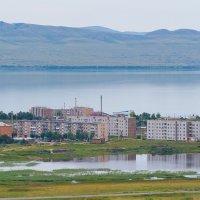 Поселок Жемчужный у озера Шира. Хакасия :: Nikolay Svetin