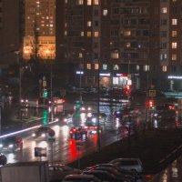 Ночной пейзаж :: Андрей Кузнецов