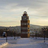 Маяк-памятник, Мурманск :: Светлана marokkanka