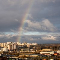 Радуга осенью. :: Владимир Безбородов