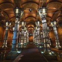 Византийская цистерна. Стамбул :: Ирина Лепнёва