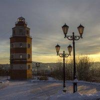Вечерняя симфония для двух фонарей и маяка :: Светлана marokkanka